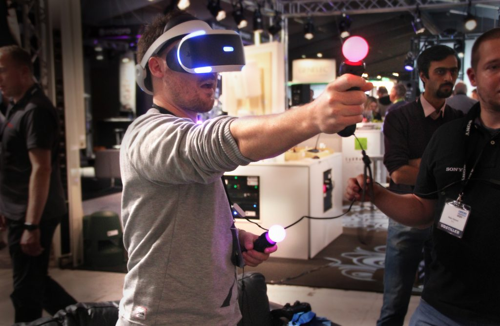 Sony VR briller til PS4